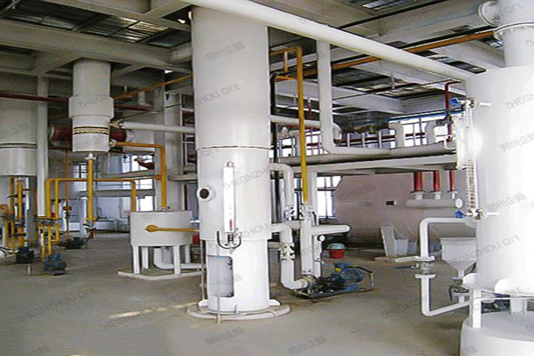 cotton seed oil extraction machine plant for small solvent