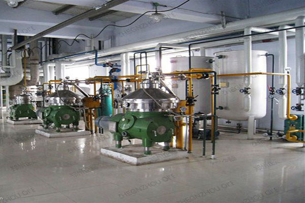 china 30t/d cotton seed crude oil refining machine - china