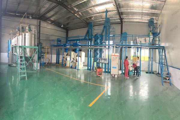 cottonseed oil extraction plant, cottonseed oil plant