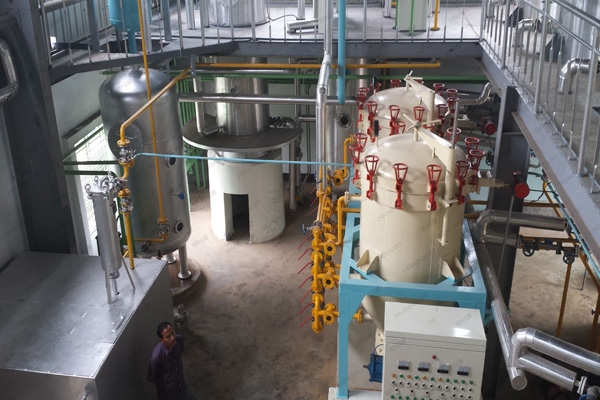 palm oil refine plant machine processing line/soybean oil