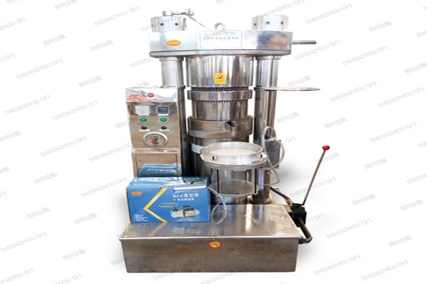 type screw small soybean seed oil extraction machine